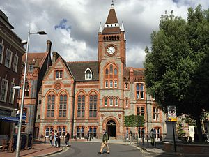 Reading, Berkshire - Reading Town Hall