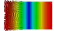 Rectangular waveguide TE10 (B field, on-end view).png