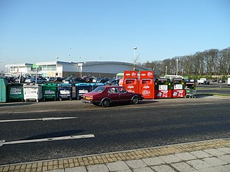 Robroyston - Image: Recycling facilities at Asda geograph.org.uk 699837