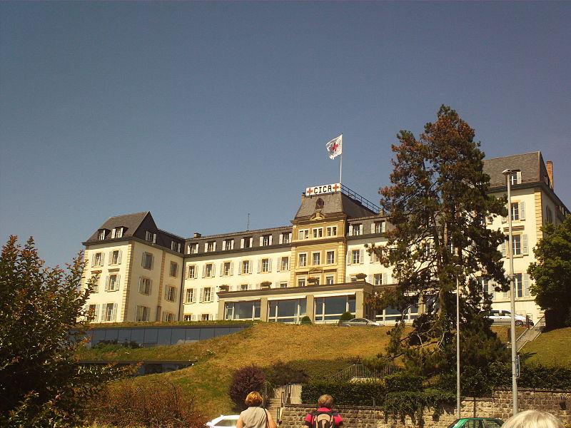 Sede de la Cruz Roja en Ginebra (Suiza).