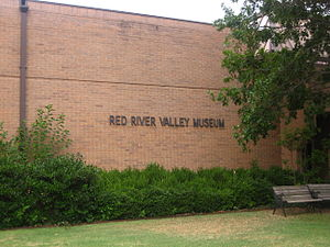 Vernon, Texas - The Red River Valley Museum is located on the Vernon College campus.