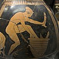 Red figure amphora, 480-475 BC, nude woman, falloi, AM Syracuse, 121439x.jpg