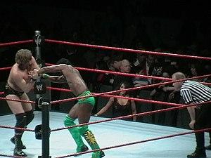 Kofi Kingston - Kingston wrestling William Regal