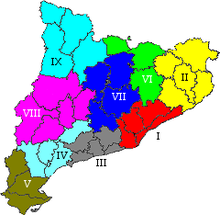Divisi territorial de Catalunya  Wikiwand