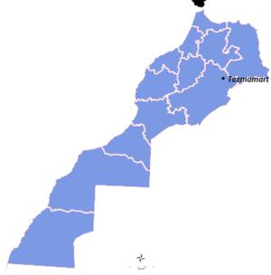Tazmamart - Image: Regions du Maroc (1)