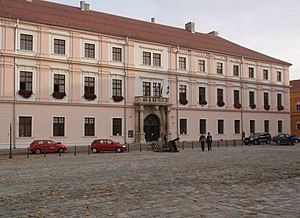 Tvrđa - Image: Rektorat Osijek