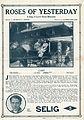 Release flier for ROSES OF YESTERDAY, 1913.jpg