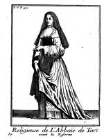 Religieuse de l'abbaye de Tart