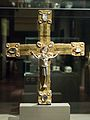 Reliquary (processional) cross from Ziefalten, 1138-1150, exh. Benedictines NG Prague, 150771.jpg