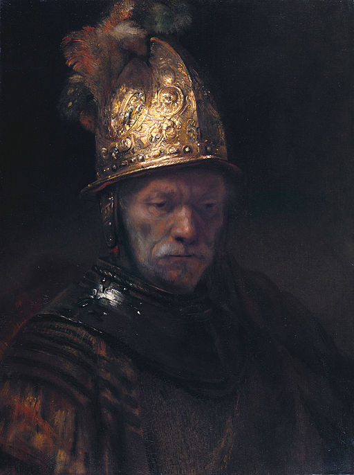 """""""The Man with the Golden Helmet"""" byRembrandt"""