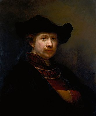 Self-portraits by Rembrandt - Royal Collection, 1642