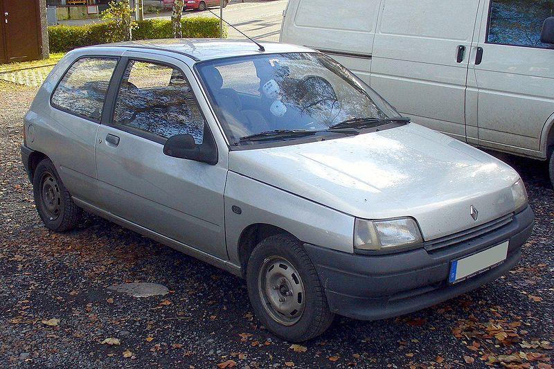 Fichier:Renault Clio I Phase I Dreitürer 1.2 RN.JPG