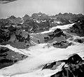 Rendu Glacier, valley glacier, icefall and hanging glaciers, August 29, 1964 (GLACIERS 5807).jpg