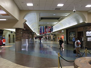 Reno–Tahoe International Airport - Terminal interior