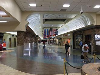 Reno–Tahoe International Airport - Terminal interior