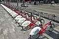 Rental bikes at Alameda Central, Mexico City .jpg