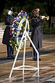 Representatives from the U.S. – Russian Joint Commission POW-MIAs lays a wreath at the Tomb of the Unknown Soldier in Arlington National Cemetery (27126859541).jpg