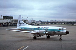 Republic Airlines Convair 580