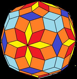 Rhombic hectotriadiohedron - Image: Rhombic hectotriadiohedron