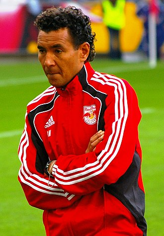 FC Red Bull Salzburg - Dutchman Ricardo Moniz coached Red Bull to a Bundesliga and Cup double in the 2011–12 season.