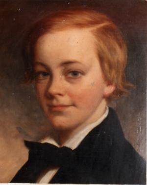 Richard Barton - Richard Barton as a young boy