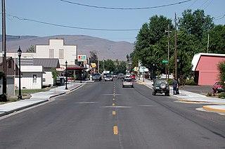 Richland, Oregon City in Oregon, United States