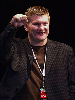 Ricky Hatton English former professional boxer