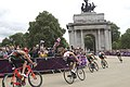 Riding towards Wellington Arch (7741366444).jpg