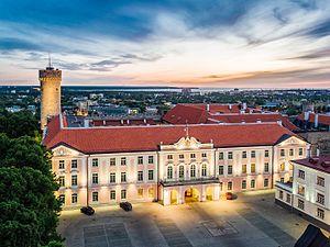 Riigikogu hoone, Kaupo Kalda foto, 2016