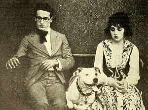 Ring Up the Curtain - Promotional still with Harold Lloyd and Bebe Daniels