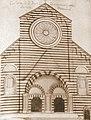 Riproduzione della facciata della chiesa di San Francesco di Castelletto a Genova.jpg