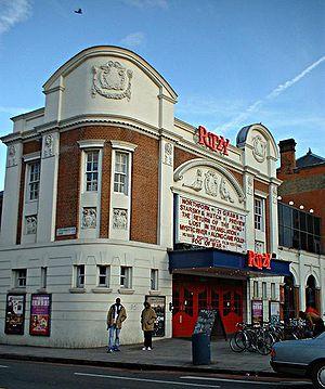 Ritzy Cinema - Image: Ritzy Cinema Brixton