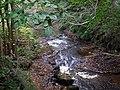 River flowing over bedrock - geograph.org.uk - 1532016.jpg