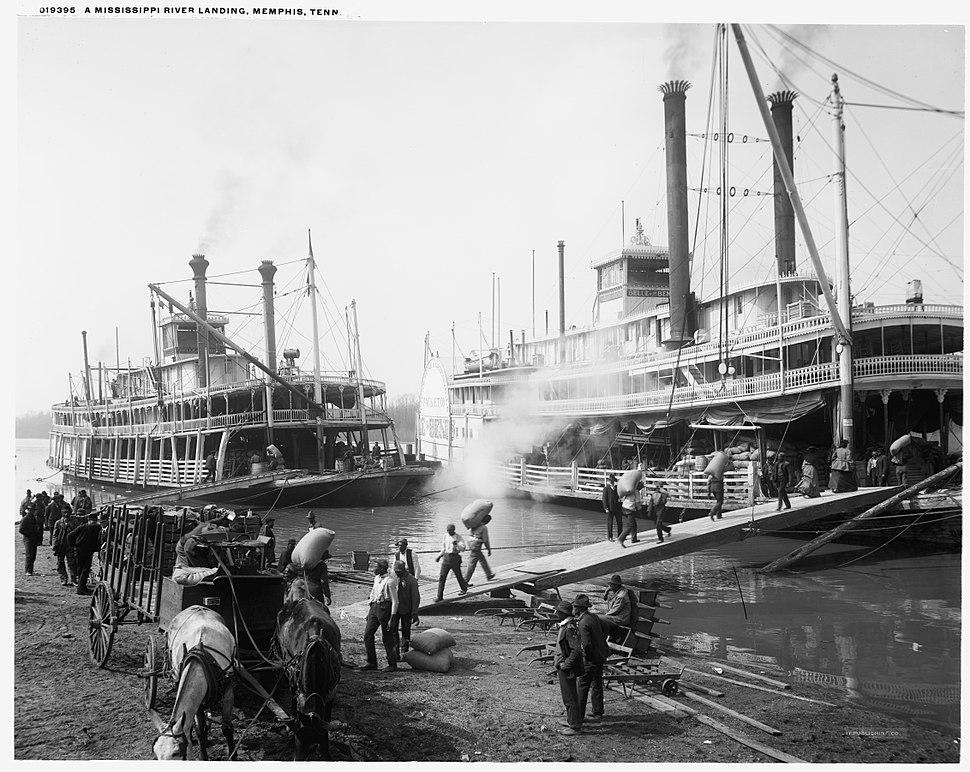 Riverboats at Memphis