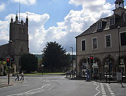Road junction, Dursley town centre - geograph.org.uk - 103717.jpg
