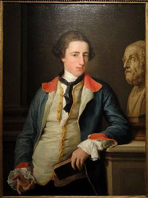 Robert Clements, 1st Earl of Leitrim - Robert Clements, later First Earl of Leitrim, by Pompeo Batoni, about 1753-1754