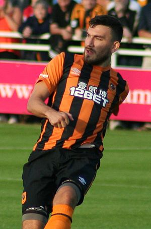 Robert Snodgrass - Snodgrass playing for Hull City in 2014