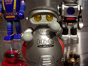 Robot at the Museum of Science and Technology