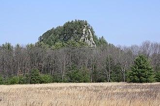 Roche-a-Cri State Park - Image: Roche A Cri State Park Mound