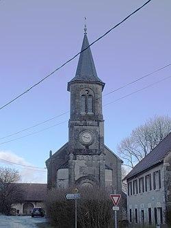 Roches les Blamont, église.JPG