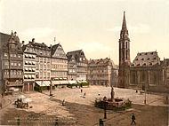 Roemerberg Nikolaikirche Frankfurt 1900.jpg
