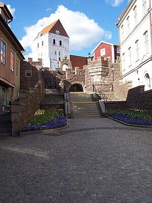 Ronneby - Image: Ronneby Munktrappan