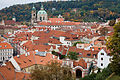 Rooftop view from the back entrance to the Castle, Prague - 9460.jpg