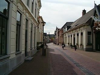 Wouw - Roosendaalsestraat in Wouw