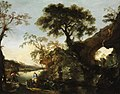 Rosa - Rocky Landscape with Waterfall, early 1640s.jpg