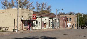 Rosalie, Nebraska - Downtown Rosalie