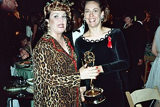 Laurie Metcalf - Metcalf at the 1992 Emmy Awards.