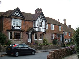 Rotherfield - Cottages in the main street of Rotherfield