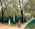 Rousseau, Henri - The Luxembourg Gardens. Monument to Shopin.jpg
