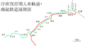 Route map of Nanso Railway.png